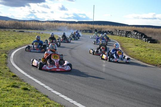 Campeonato Social de invierno Karting Castroponce