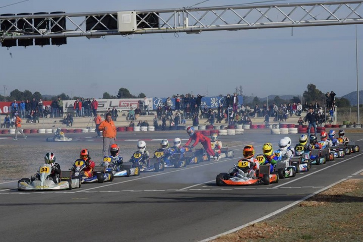 Nuevo éxito del III Hivern Karting en Chiva