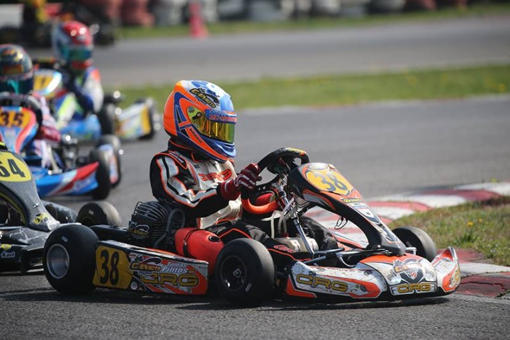 """Trofeo Andrea Margutti - Tommy Pintos en el """"top ten"""" de 60Mini"""