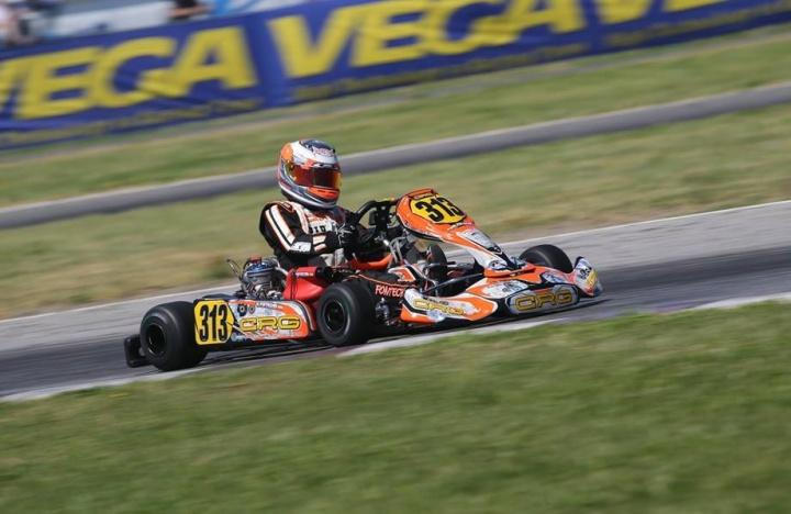 WSK Super Master Series OKJ - Ayrton Fontecha roza el podio