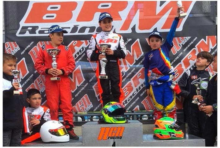 Villarcayo acogió la segunda cita del Campeonato de Karting de Castilla y León