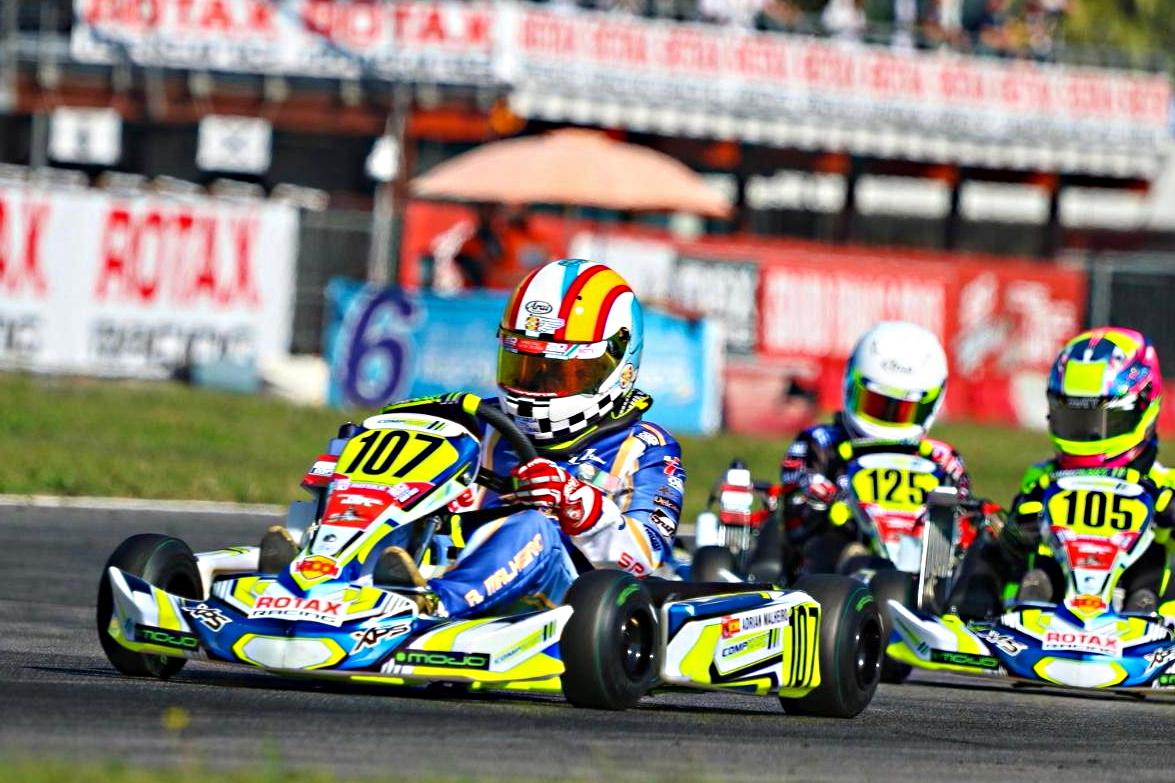 Rotax Grand finals - Concluye la primera jornada de competición oficial en Sarno