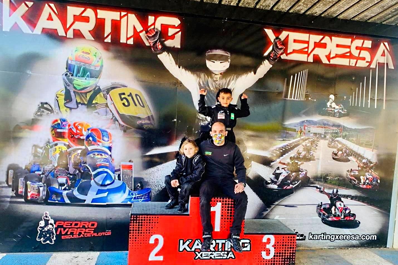 Pedro Ivars, referencia en la formación de pilotos de karting