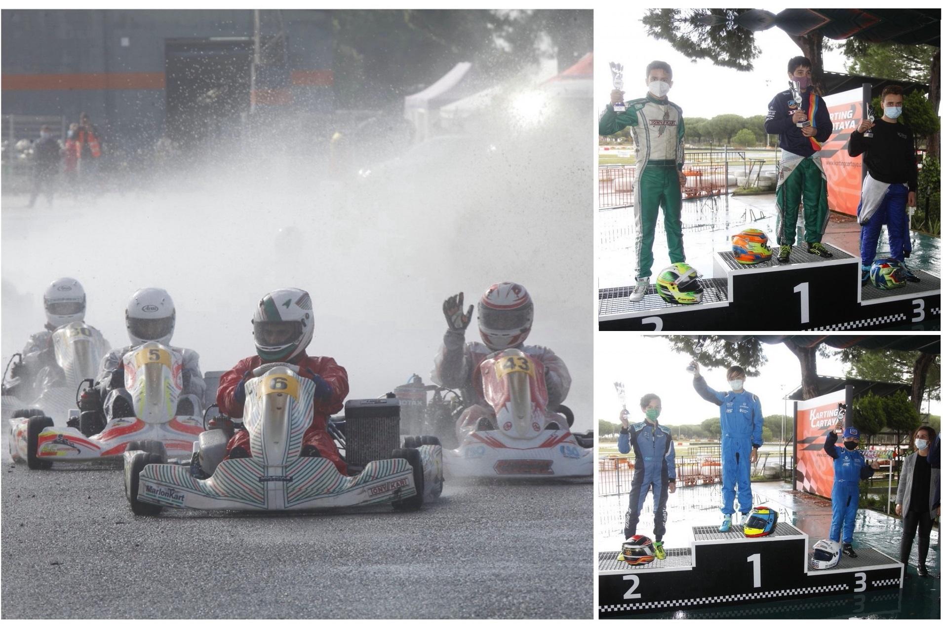 El Kartódromo de Cartaya corona a los campeones de Andalucía 2020