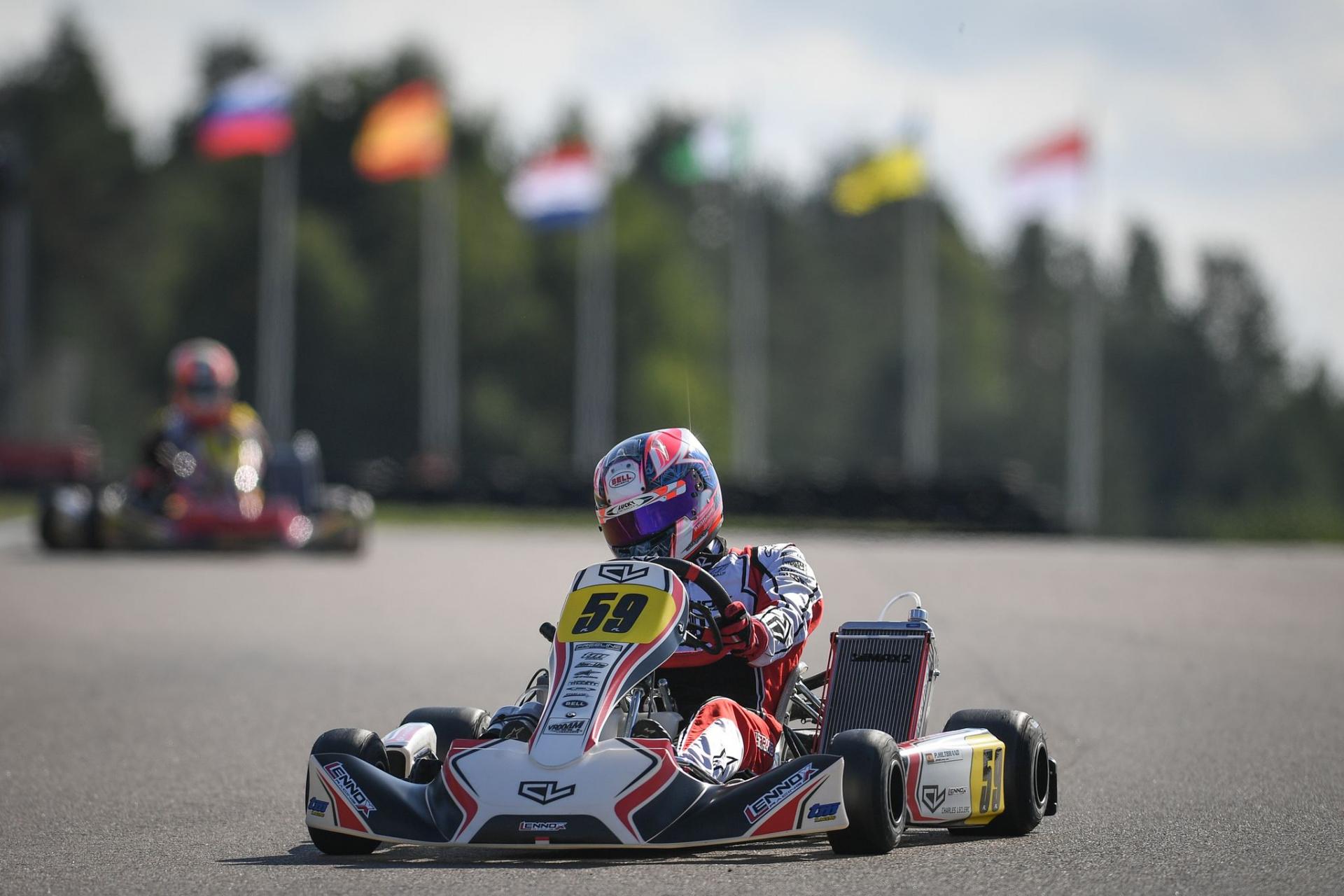 FIA Karting Championship Suecia - Sin opciones en KZ, mejorando en KZ2