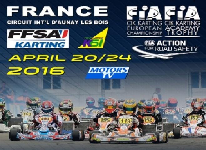 Españoles en el arranque de la temporada europea CIK-FIA en Essay.