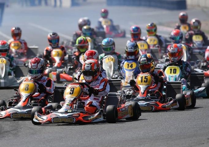 Kart Grand Prix France KZ - Pedro Hiltbrand acarició el triunfo