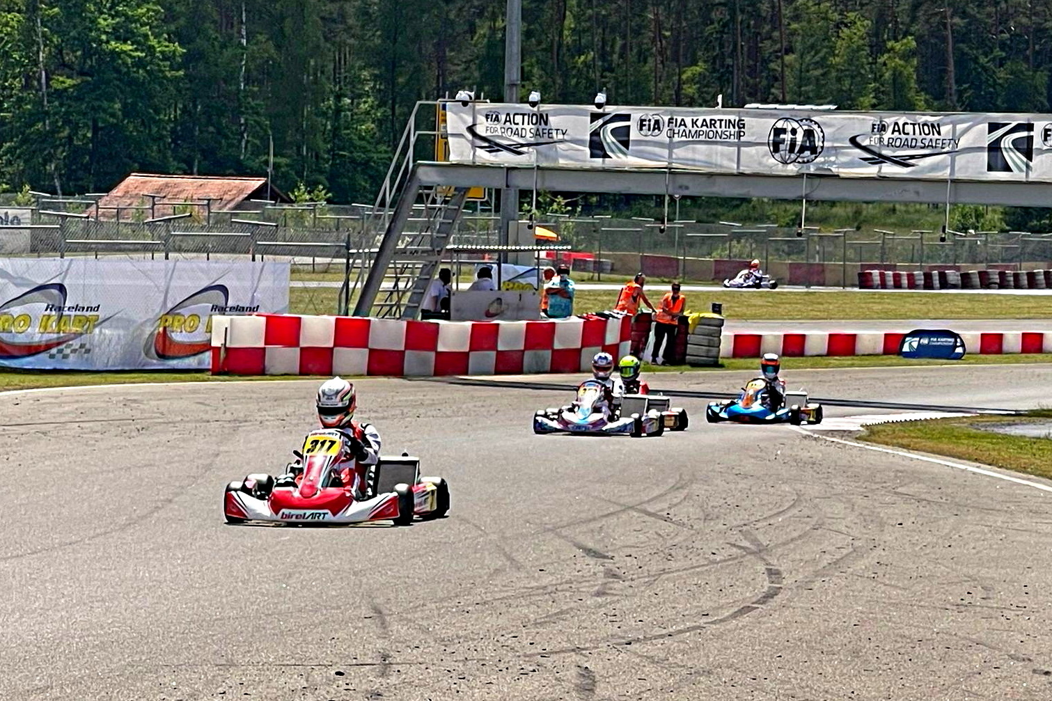 Europeo KZ/KZ2 y Academy Trophy: qualifying disputado en Wackersdorf