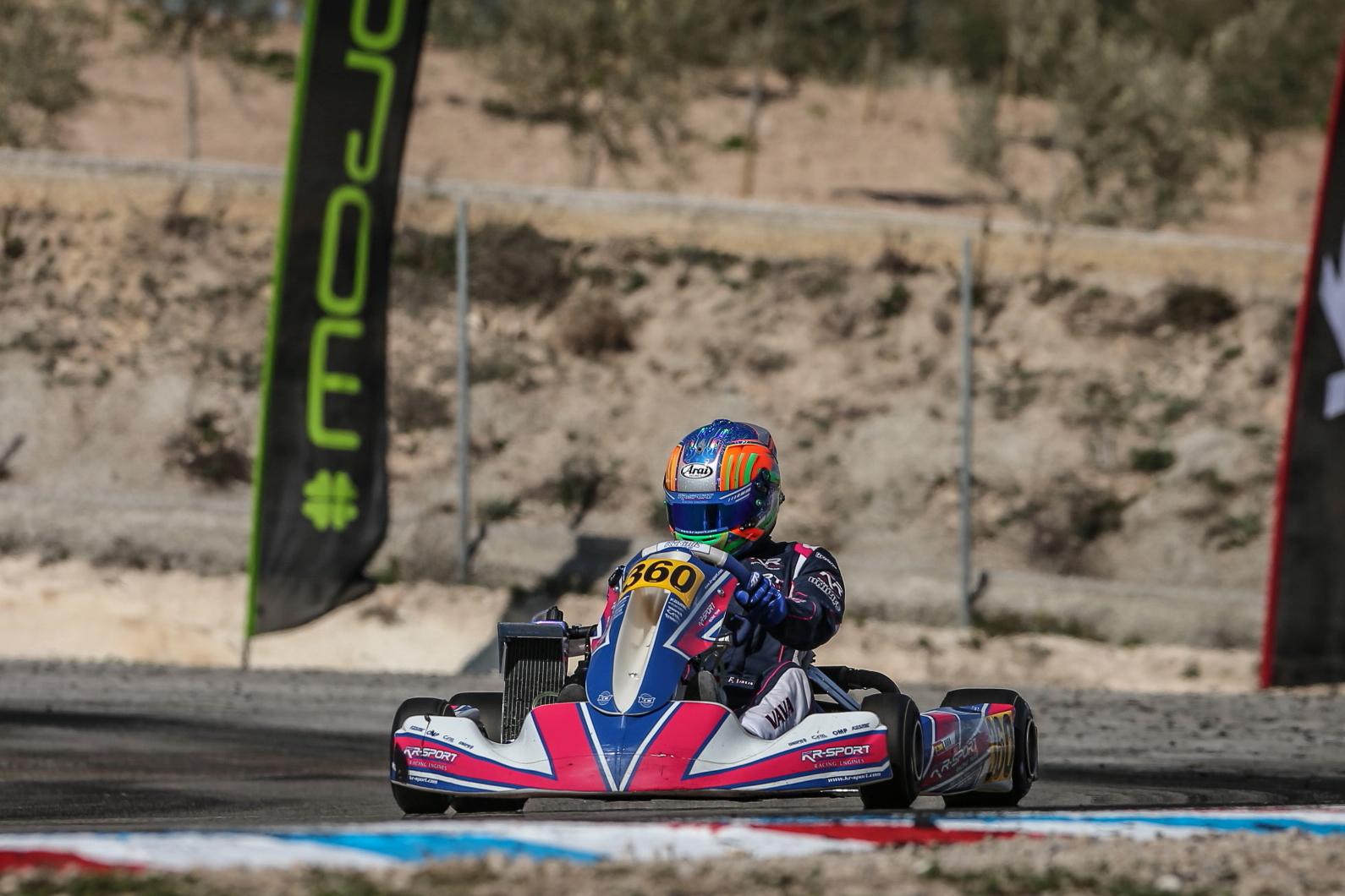 Rotax Euro Trophy Winter Cup: Meritorio P7 final entre 69 participantes para Filip Vava