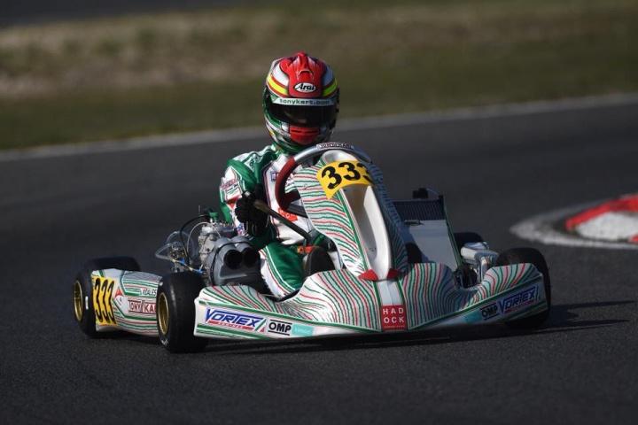 P8 para David Vidales en el Kart Grand Prix of Italy de KZ2
