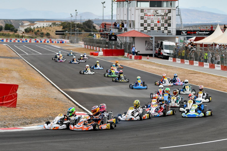 El Campeonato de Andalucía de Karting comenzó a lo grande