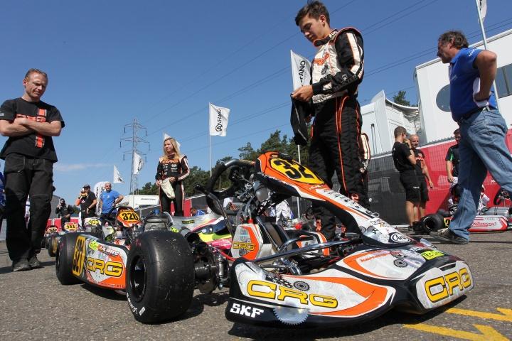 Campeonato de Europa KZ2 - Pedro Hiltbrand Subcampeón