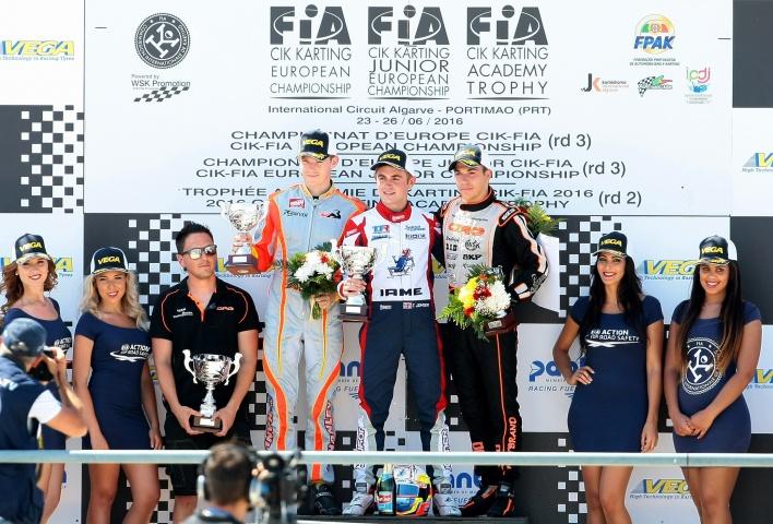 Europeo CIK-FIA Portimao - Hiltbrand de nuevo en el podio
