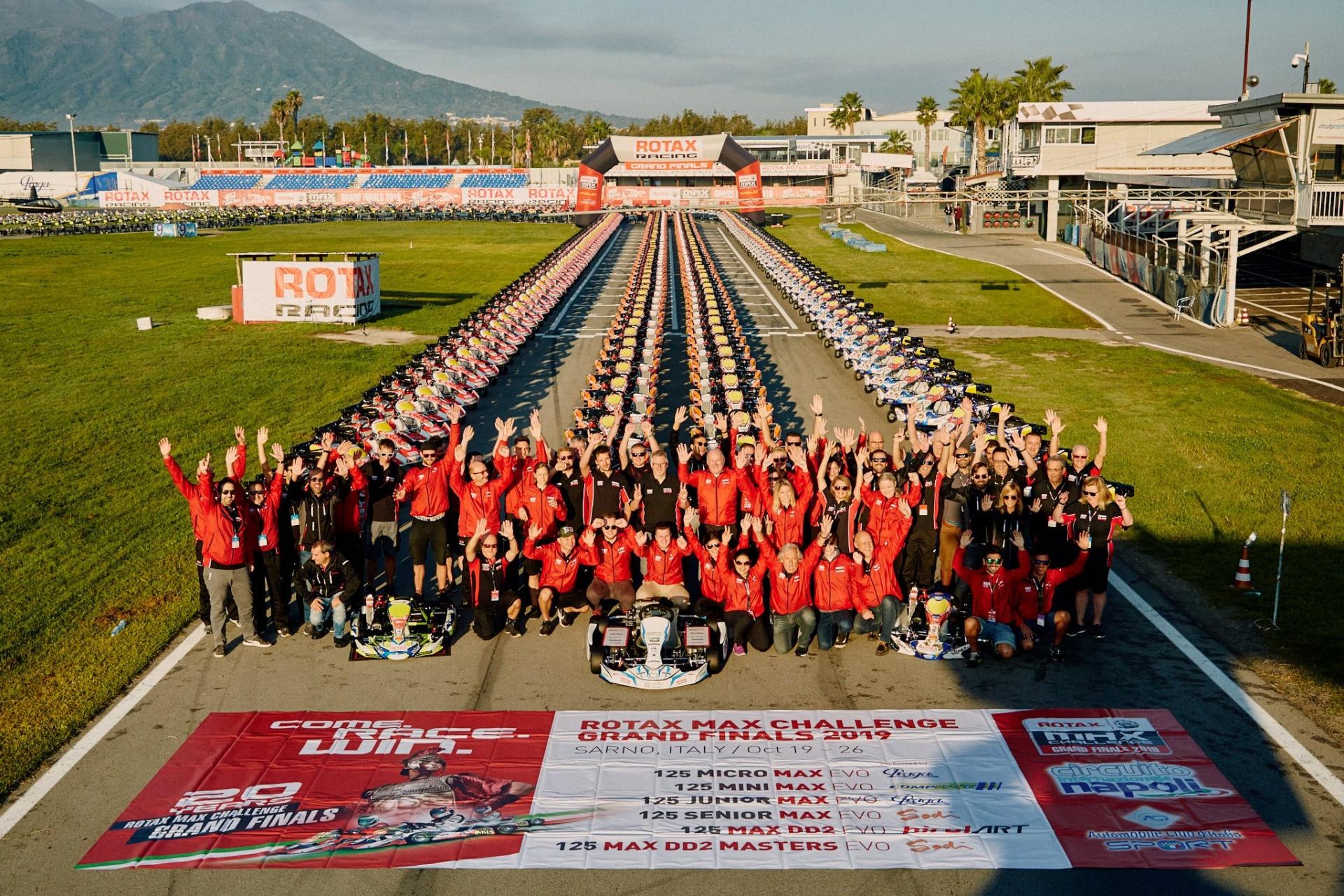 Rotax Grand Finals 2019 en Italia...Che spettacolo!!