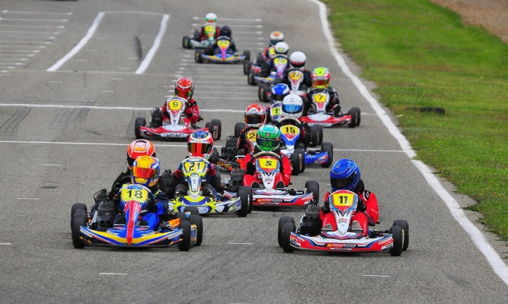 El Campionat de Catalunya de Karting visitó Mora d'Ebre