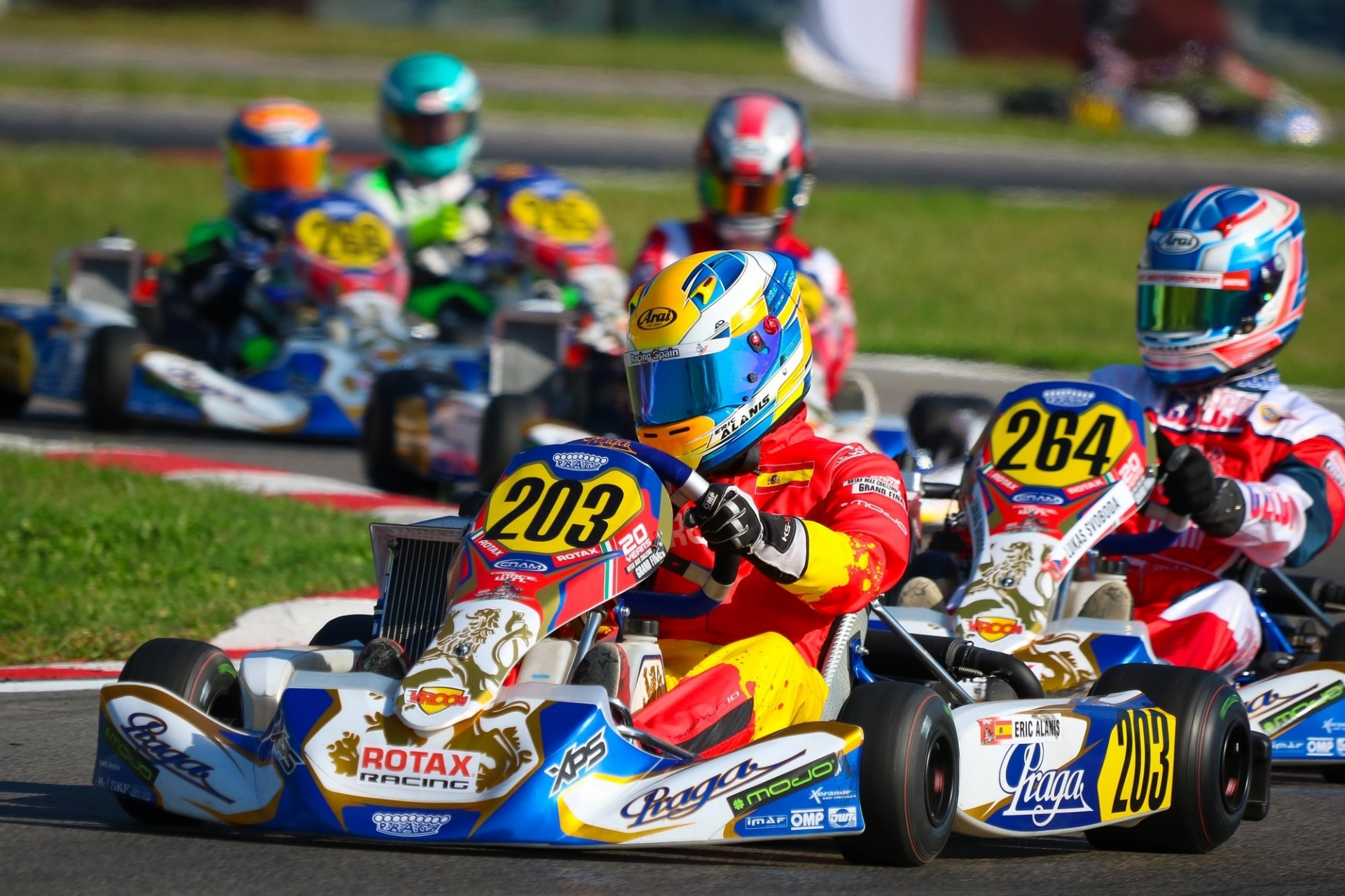 Rotax Grand Finals Junior - Eric Alanis finalista