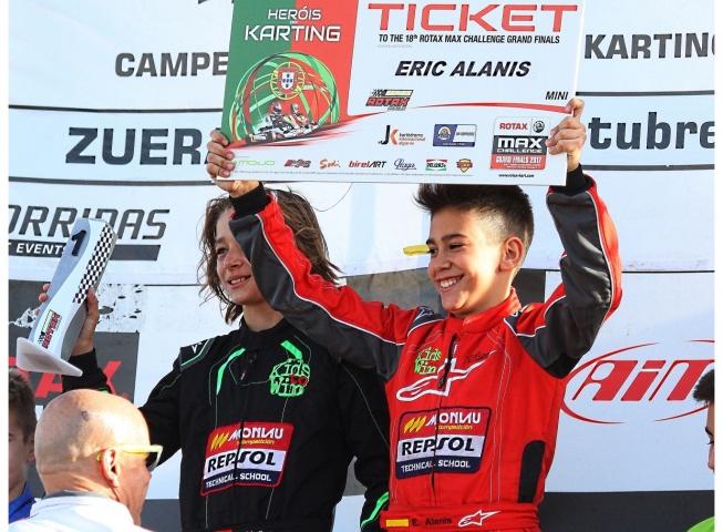 Los españoles de las Rotax Grand Finals - Eric Alanis (Mini)