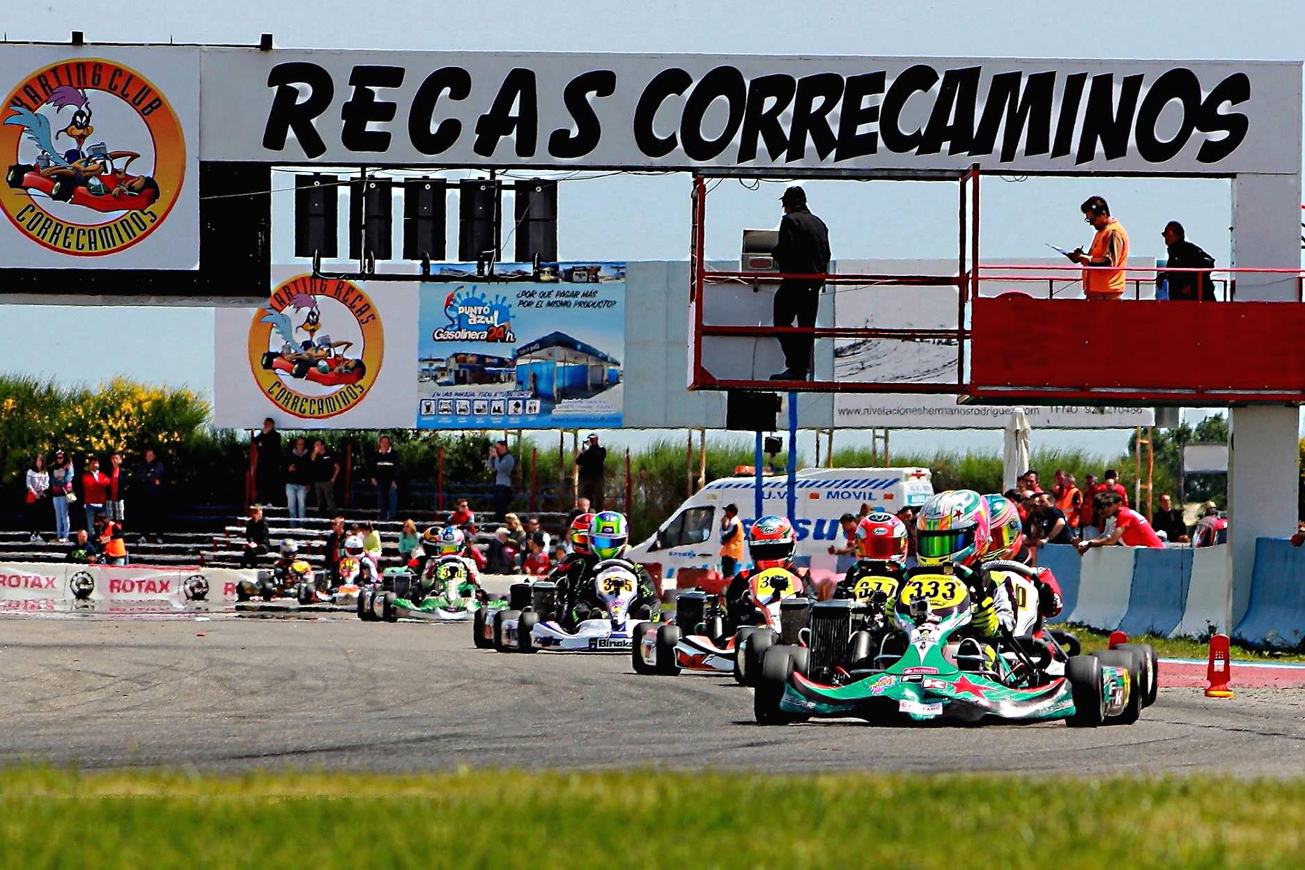 Tal día como hoy - Series Rotax, Recas 27 abril, 2014.