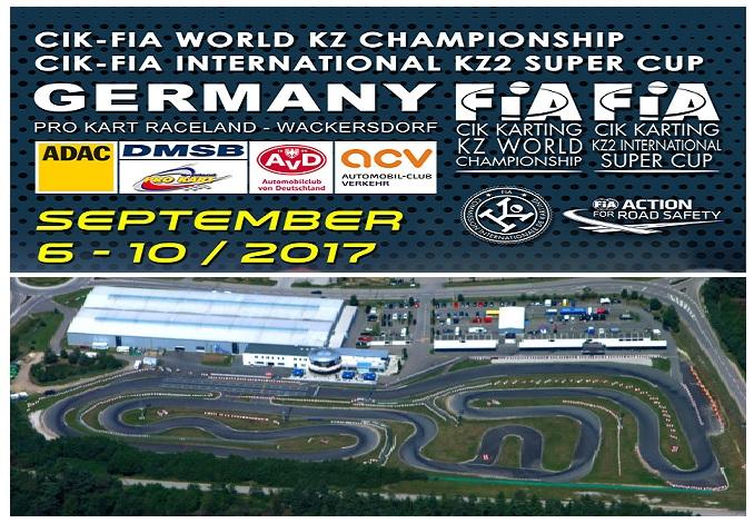 El Campeonato de Mundo KZ y KZ2 International Super Cup en Wackersdorf