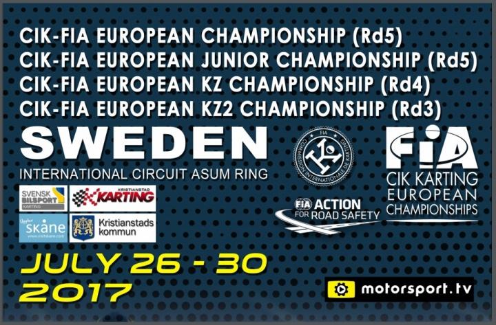 Campeonato de Europa CIK-FIA: Continúa la aventura escandinava
