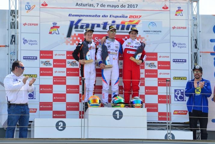 CEK Junior - Rubén Moya y Javier Sagrera se reparten las victorias