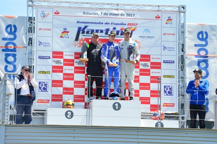 CEK KZ2 - Eliseo Martínez vence por partida doble en Asturias