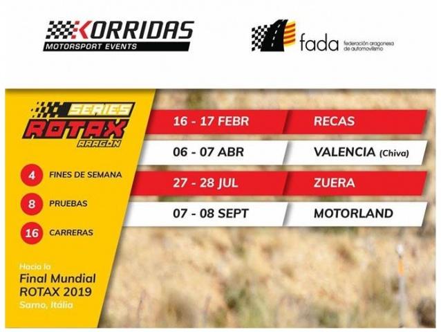Las Series Rotax contarán con retransmisión en directo en 2019