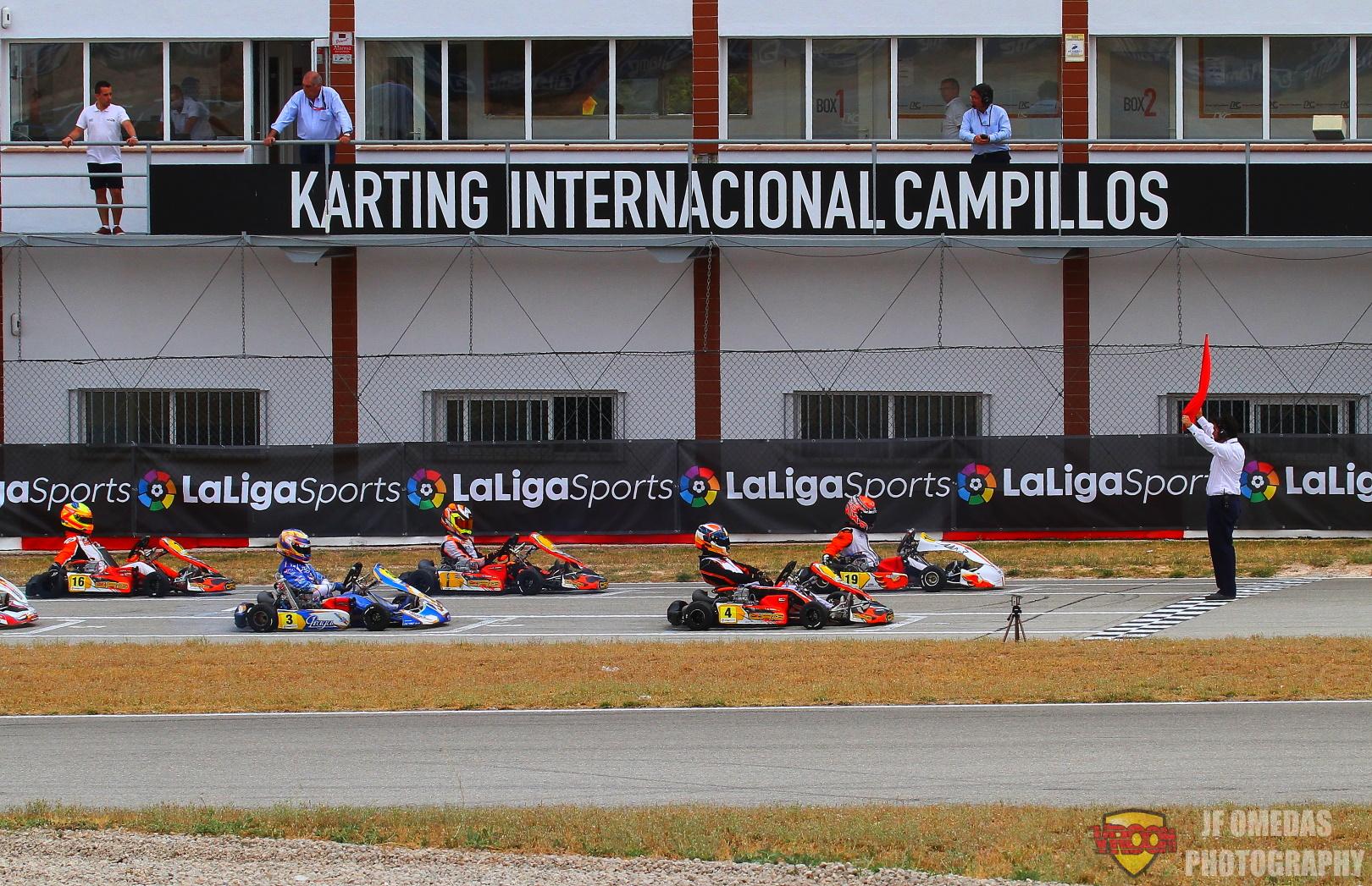 Fin de la cuenta atrás: El Kart Center Campillos listo para dar comienzo al CEK