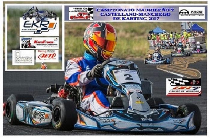 El Campeonato Madrileño a por la última cita en el Karting DR7