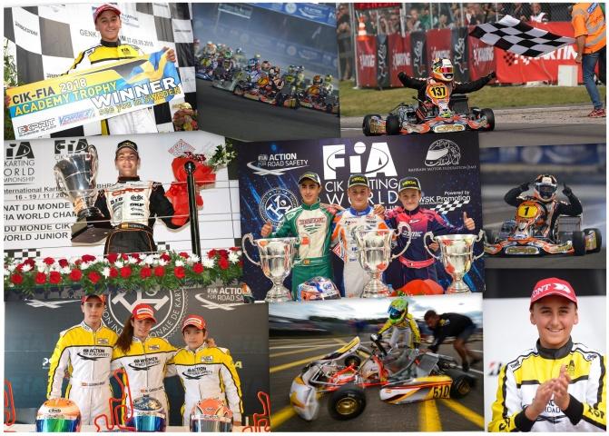 Palmarés CIK-FIA 2015-2018: cuatrienio de oro para el karting español