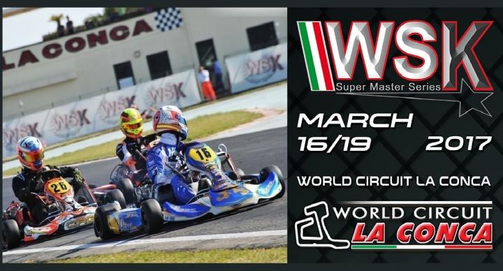 WSK Super Master Series - El turno de La Conca