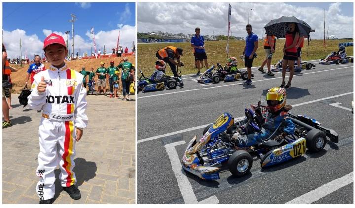 Christian Costoya roza el Top 10 en su primer Mundial Rotax