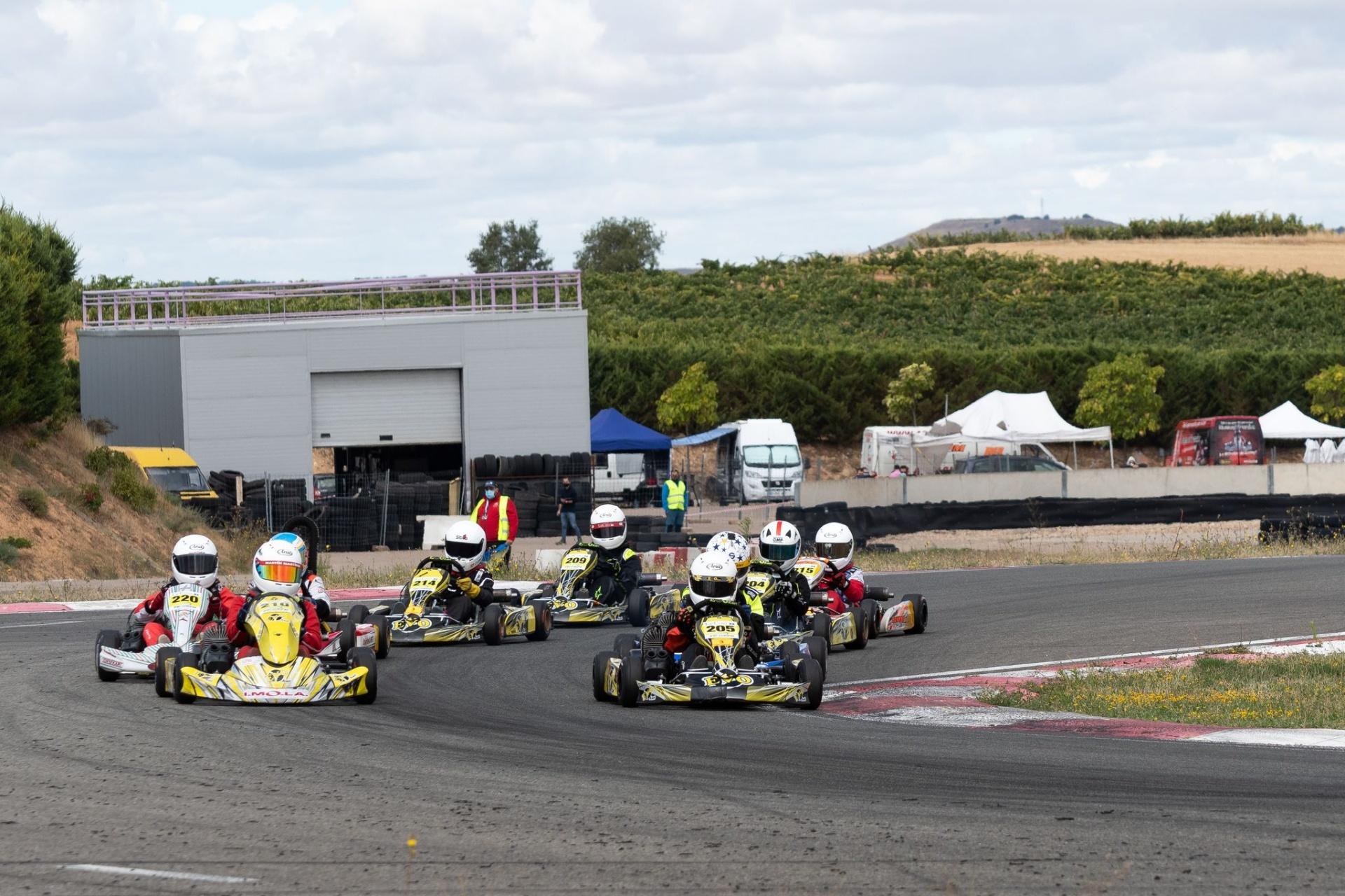El Campeonato de Karting de Castilla y León superó su ecuador