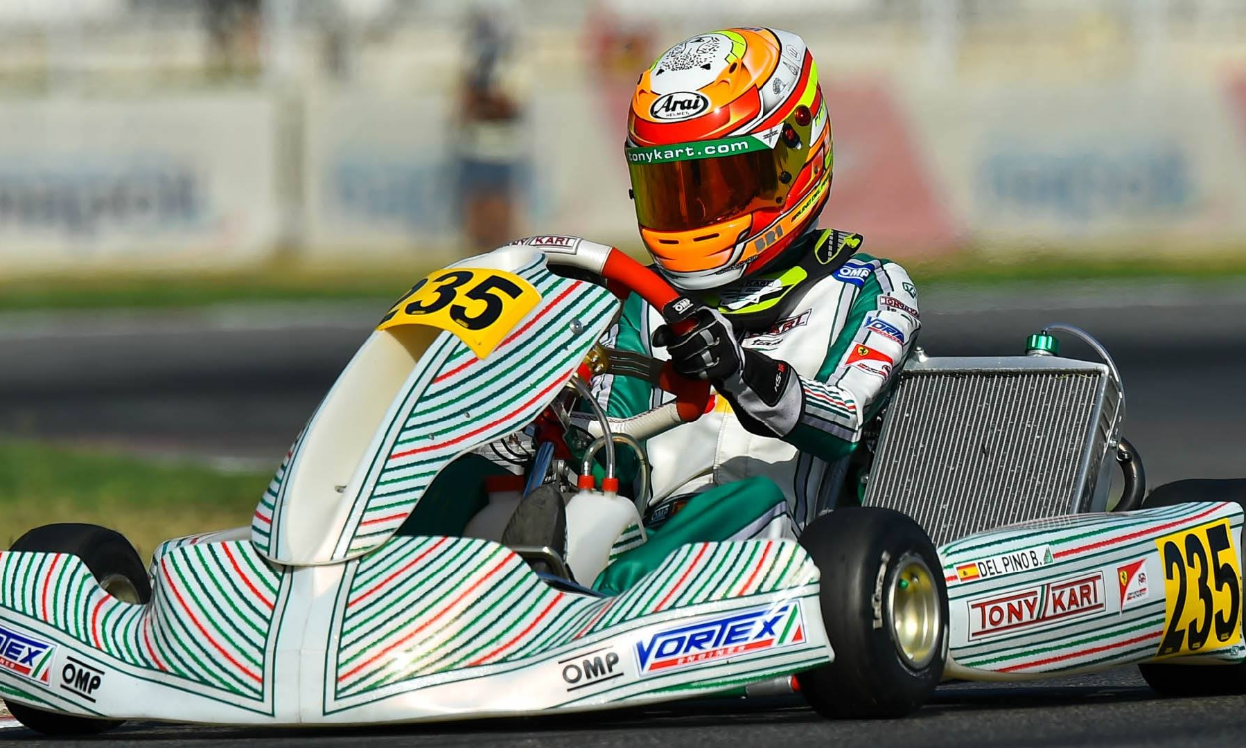 Europeo FIA OK/Junior - Top 8 para Bruno del Pino en Sarno