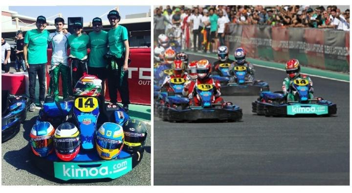 """Top Ten para el """"FA Racing"""" en las 24 horas de Karting de Dubai"""