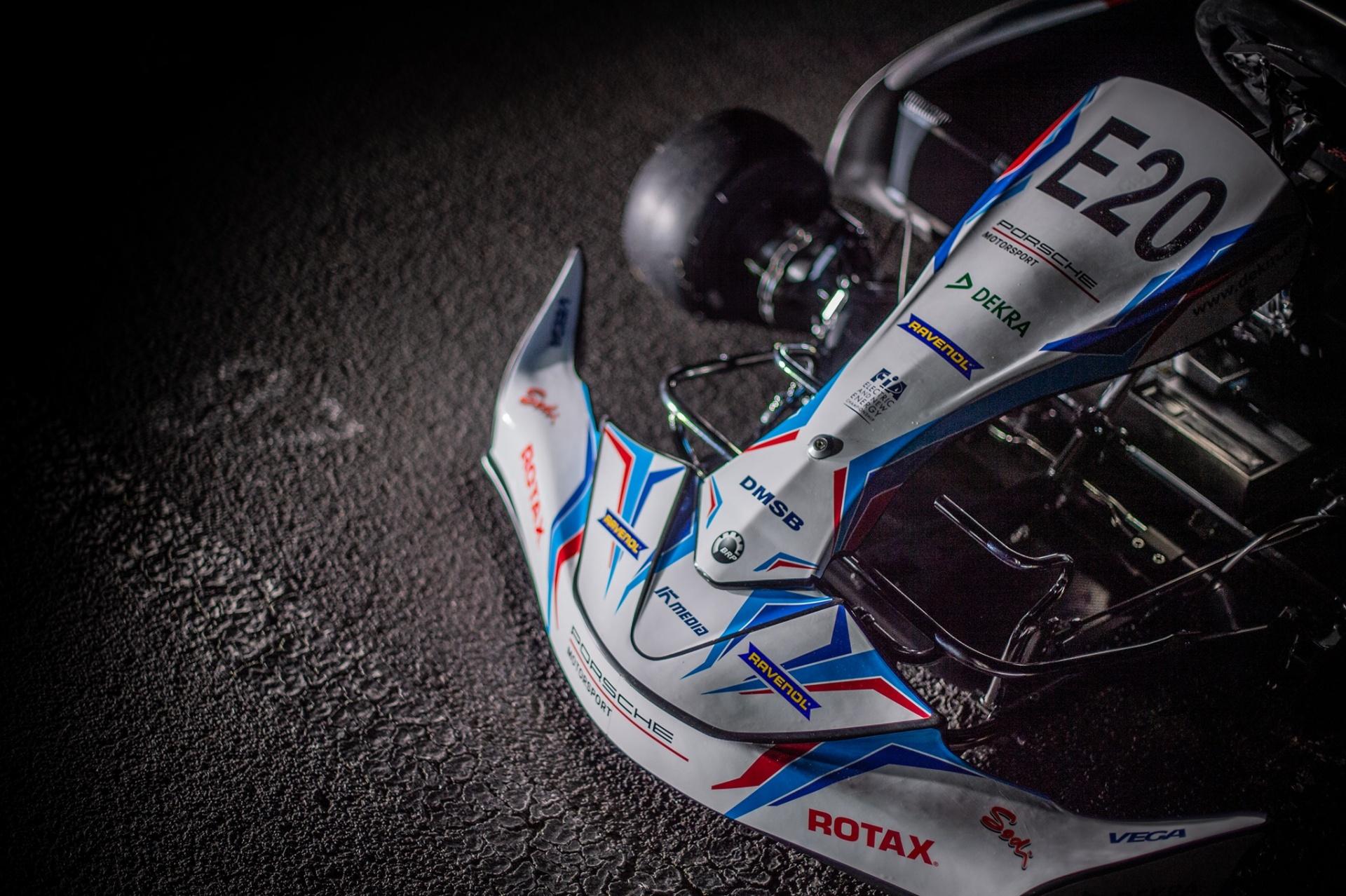 Rotax a la cabeza en la carrera del kart eléctrico