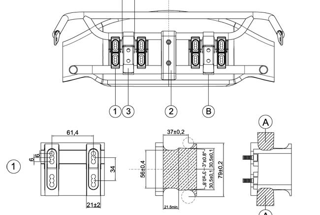 Vuelve a escena una nueva versión del spoiler delantero CIK-FIA