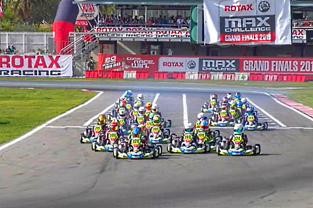Rotax GF Mini: Adrián Malheiro obligado a la retirada en la Final