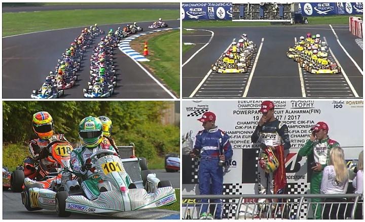 Campeonato de Europa CIK-FIA: Podio de Pedro Hiltbrand en Finlandia