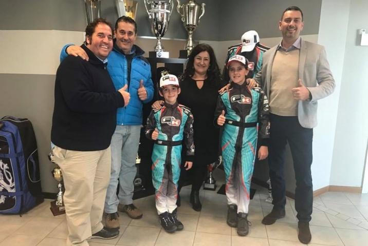 Lorenzo y Lucas Fluxá pilotos oficiales del Formula K Junior Team