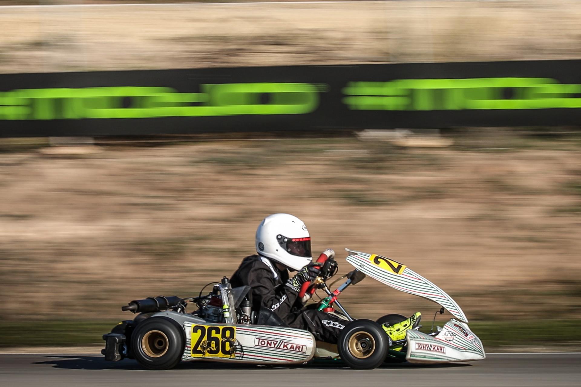 Inicio de temporada positivo para Guillermo Pernía en las competiciones Rotax