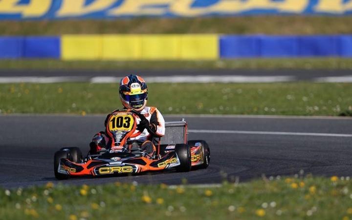 Campeonato de Europa CIK-FIA: Pole Position para Pedro Hiltbrand