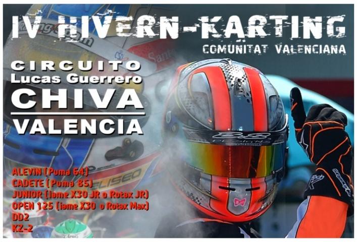 """""""Boom"""" de inscritos en el IV Hivern Karting"""