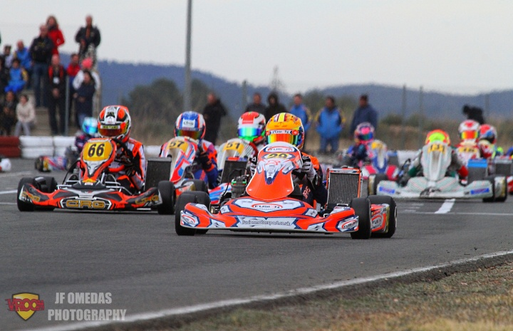 Iame Winter Cup - Top 10 para Max Mayer en Junior
