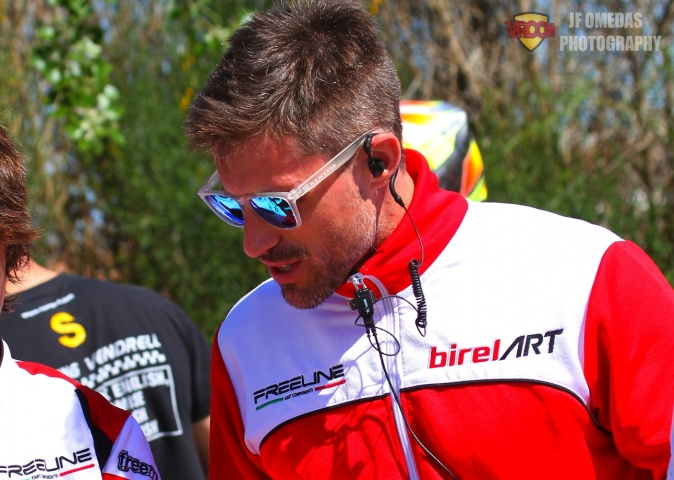 Ricard Ferrando - Coach de pilotos Birel Art Spain
