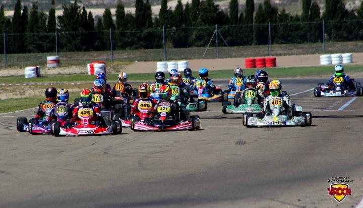 Series Rotax DD2 - Victorias de Antonio Aguado y Gerard Cebrián en Zuera.