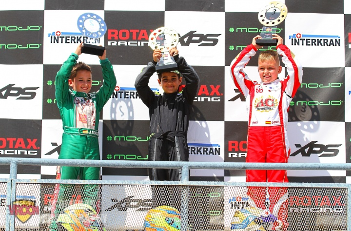 Series Rotax Micro - Alberto Hurtado logra el doblete en Alcañiz