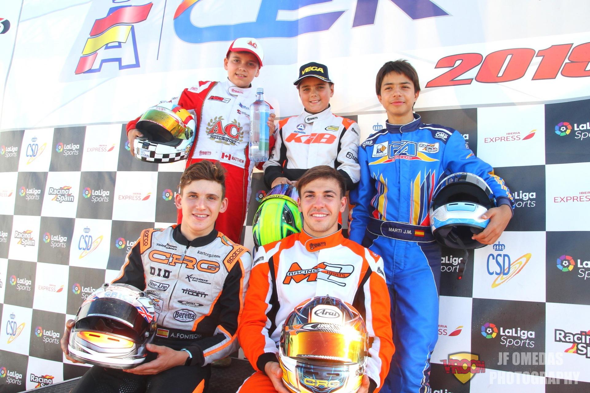Zuera corona a los Campeones de España de Karting 2019