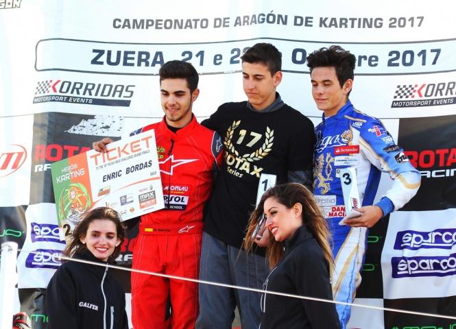 Series Rotax Max - Primera carrera para Maciá, segunda y título para Bordas