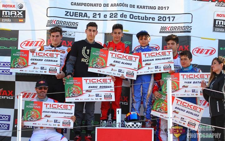 Series Rotax - Los ganadores rumbo a Portimao
